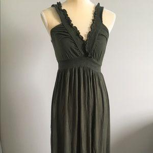 Arden B Women's Green Maxi Dress Size L